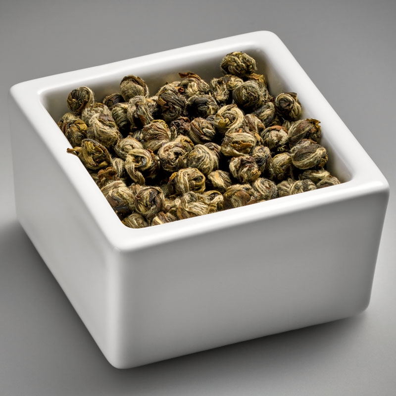 SILVER DRAGON PEARLS GREEN TEA