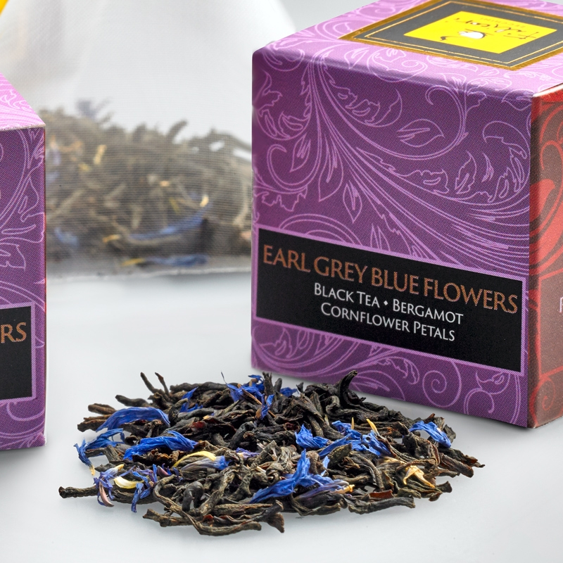 EARL GREY BLUE FLOWERS